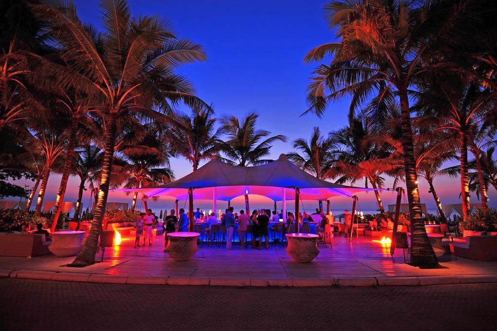 Tropical Island Beach Ambience Sound: Nightlife & Nightclubs In Phuket. Catch Beach Club, Surin