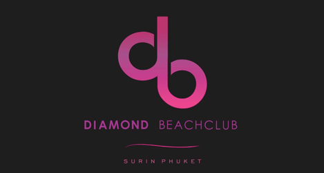 diamond beach club phuket logo