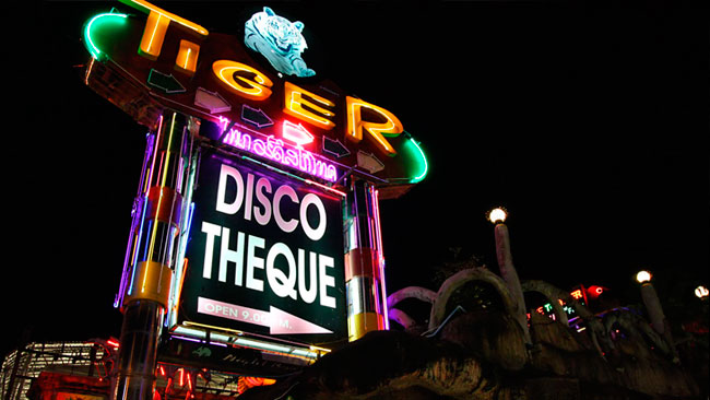 tiger disco patong beach nightlife