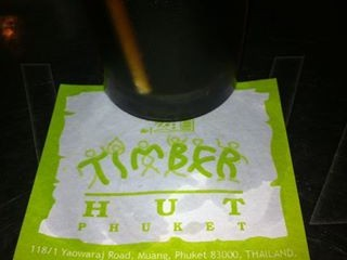 timber hut phuket town nightlife