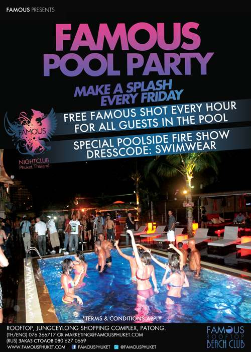Famous Club Pool Party