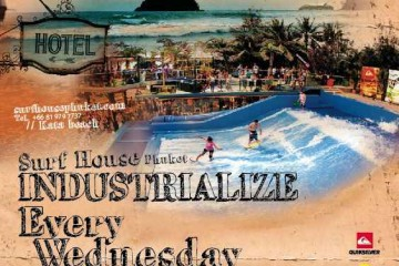 Industrialize surf house phuket, phuket nightlife