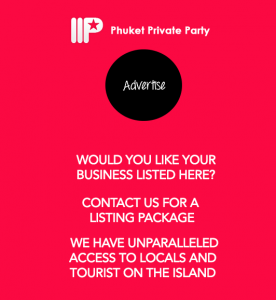 advertise with phuket private party