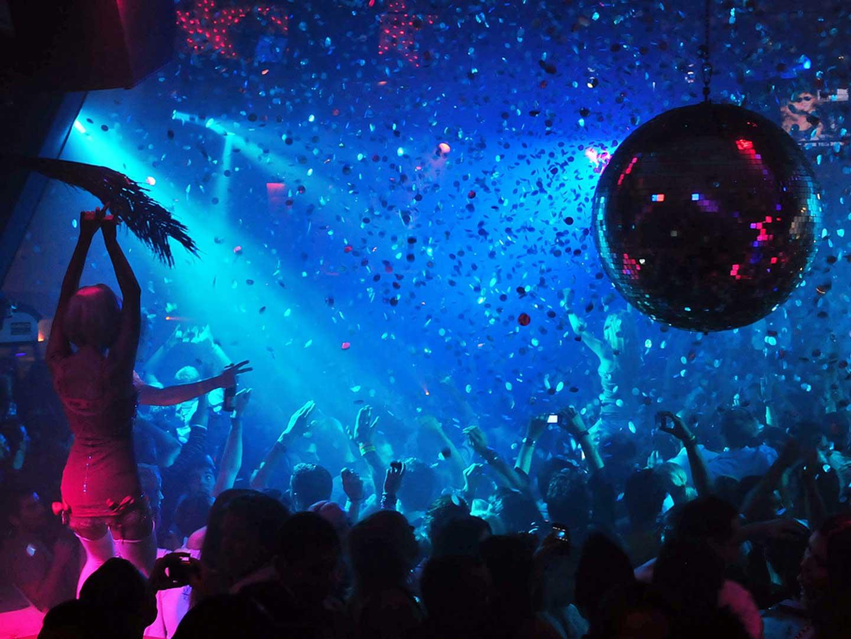 Nightclub dance wallpaper